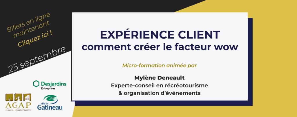 Formation Expérience client AGAP VG